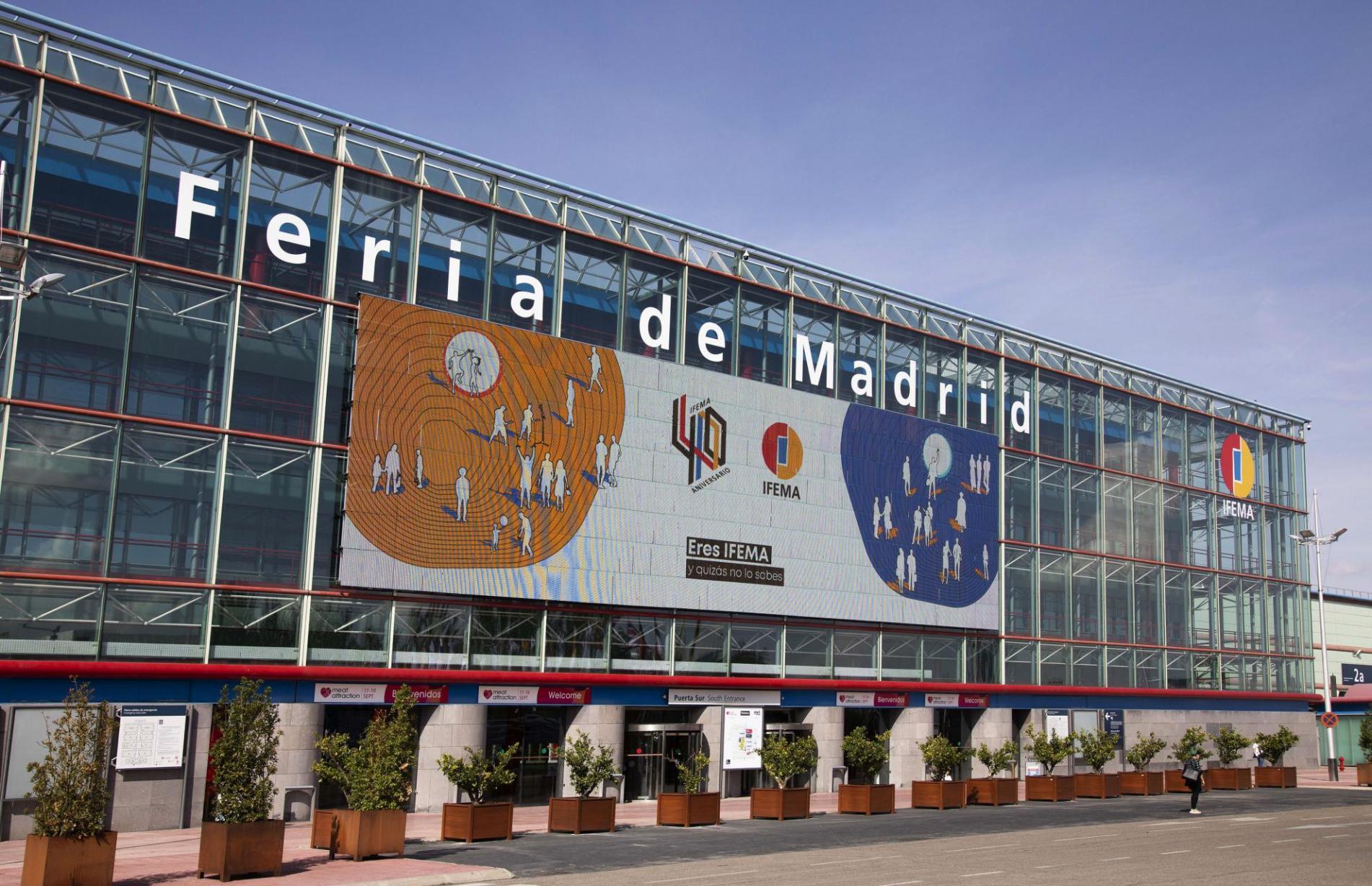 Acceso puerta Sur IFEMA, Feria de Madrid