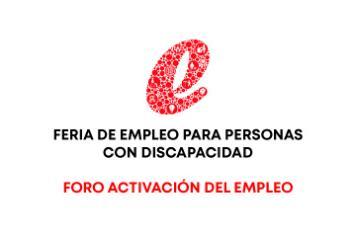 Feria empleo discapacidad logo