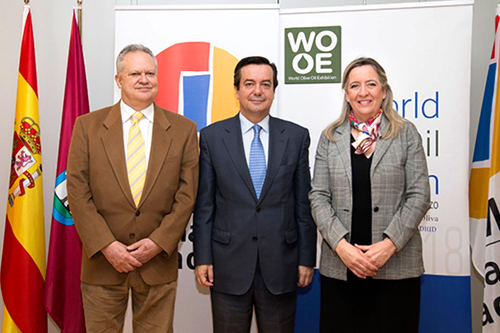 Firma del acuerdo de Ifema y World Olive Oil Exhibition