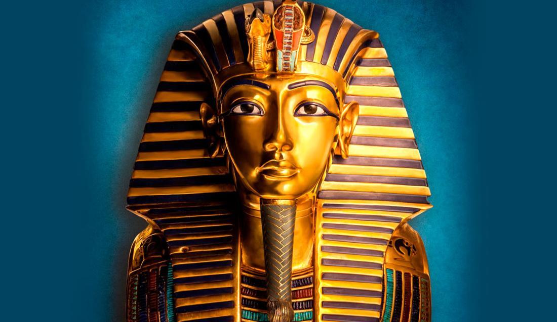 Ilustración del emperador Tutankamon