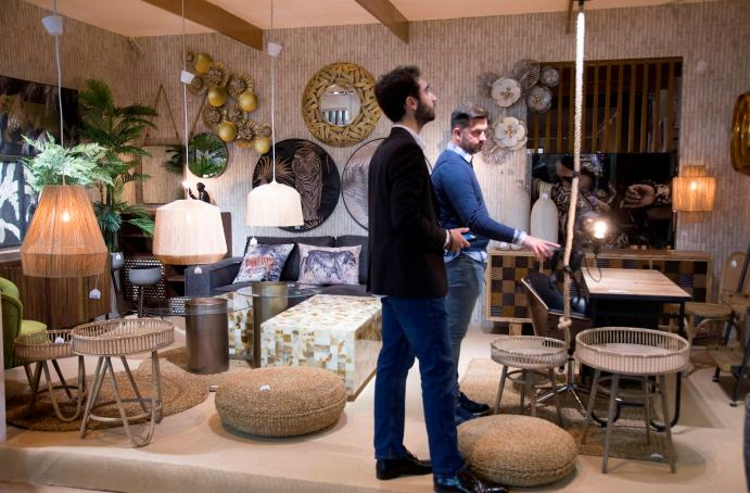 Foto ambiente stand decoracion en INTERGIFT