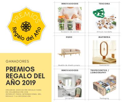 Los Premios Regalo del Año, promovidos por la Asociación Regalo Fama, tienen la finalidad de reconocer productos de Intergift por su calidad, diseño e innovación