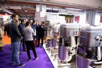 Exposición de maquinaria de la feria INTERSICOP
