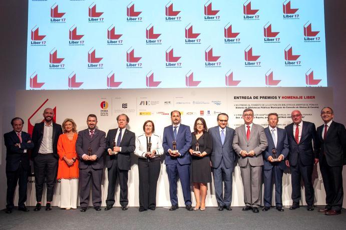 entrega premios liber 2017
