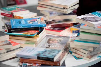 Imagen libros feria Liber