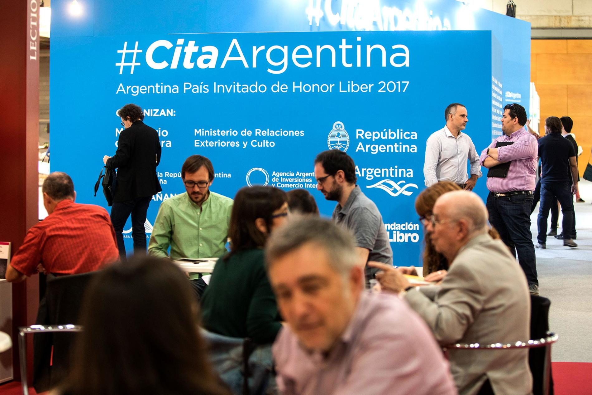 Argentina, país invitado en Liber 2017