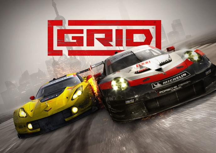 Coches de carrera GRID - Madrid Games Week 2019