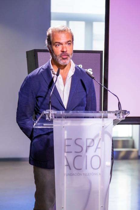 Imagen discurso congreso Madrid Games Week 2019