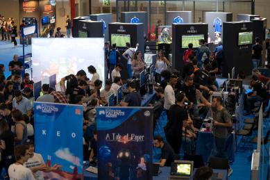 Foto ambiente Madrid Games Week Playstation