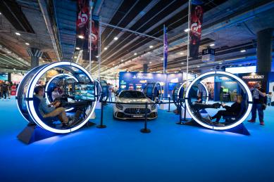 Foto ambiente Madrid Games Week Playstation