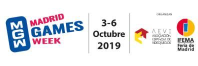 Logo Madrid Games week 2019