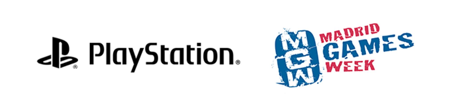 Logo PlayStation en Madrid Games Week