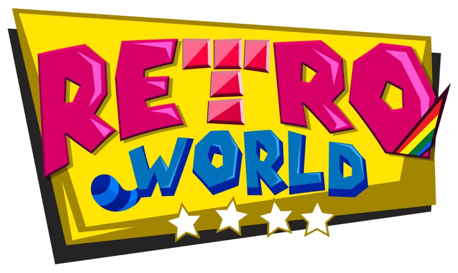 Logo de RetroWorld   Madrid Games Week 2019