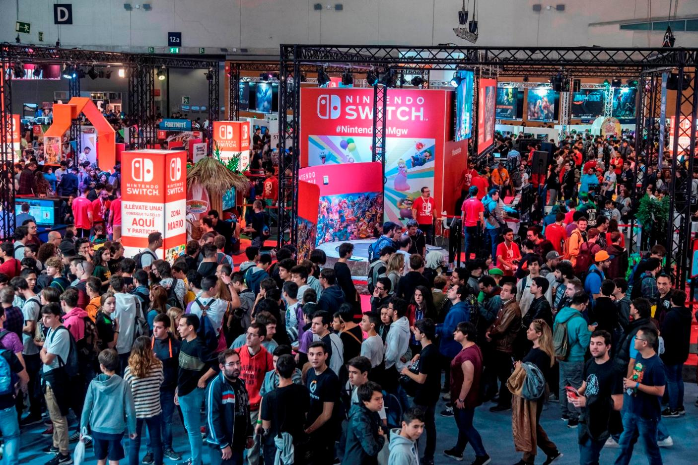 Madrid Games week ambiente