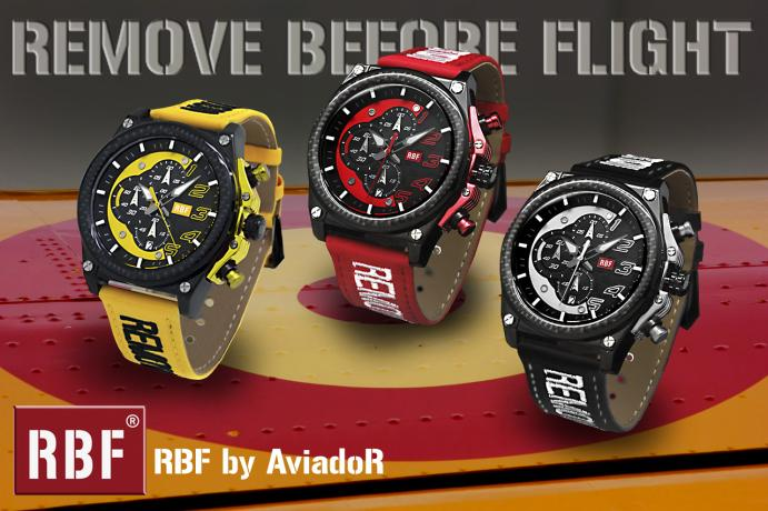 RBF® NACE DE LA MANO DE AviadorR Watch