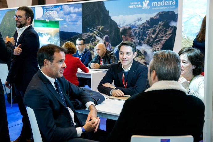 Professional visitors gathered at the Madridjoya fair