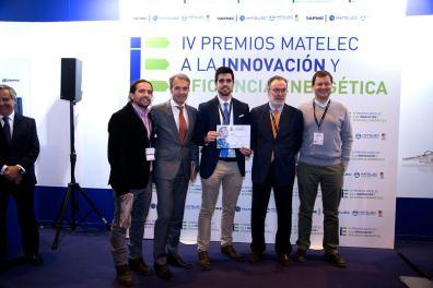 Recogida de premios a la Innovación