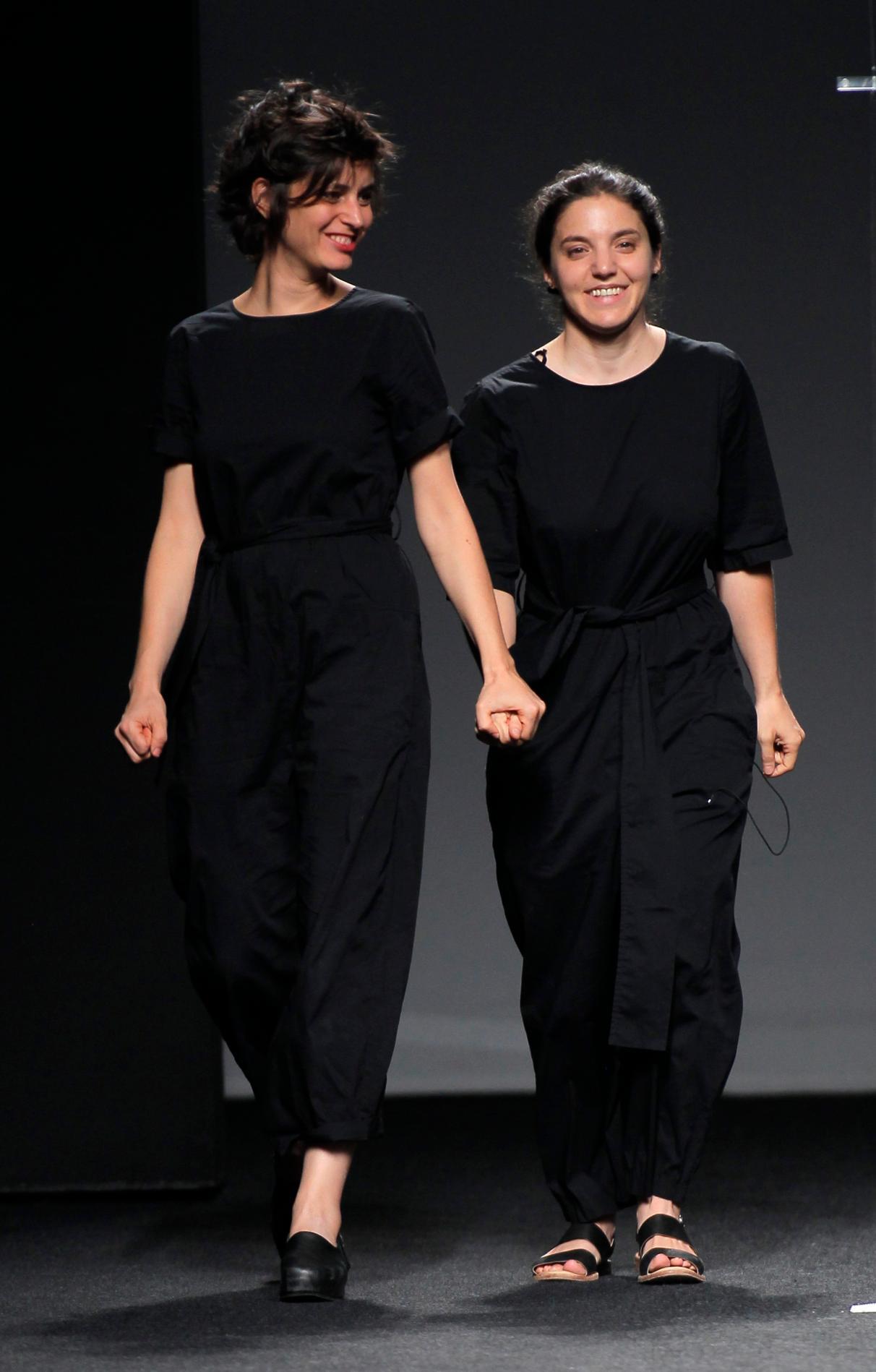 Elena Zapico en 2017 ganadora con la firma ZAP&BUJ Fashion and Architecture del Samsung Ego Innovation Project