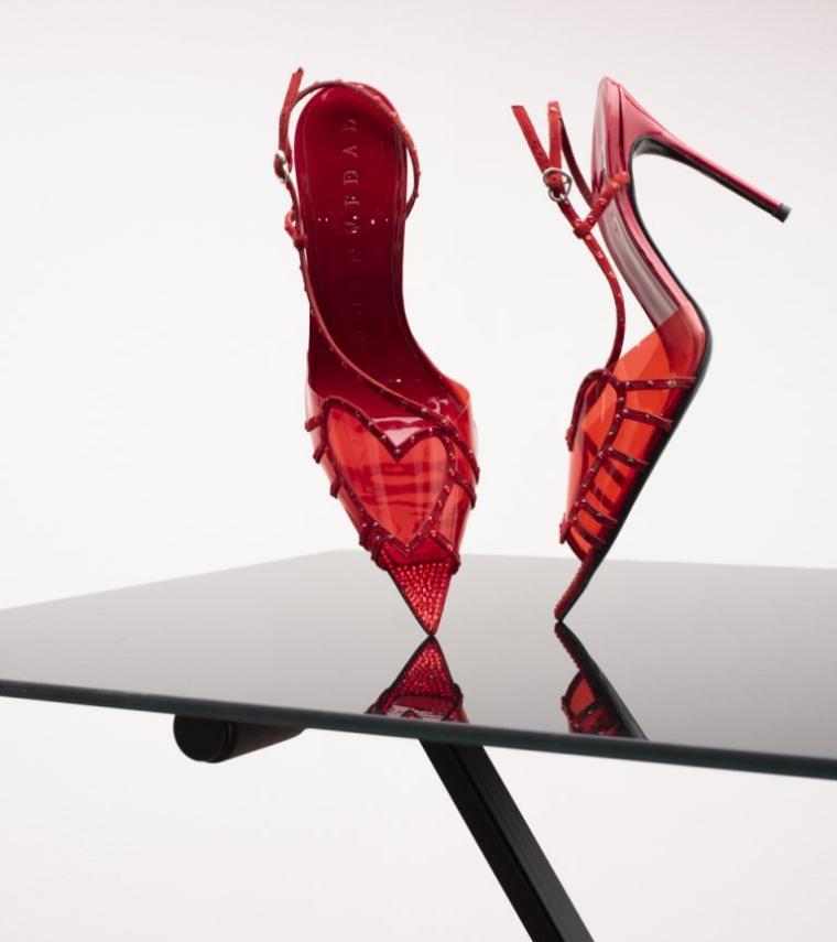 zapatos rojos Juan Vidal primavera-verano