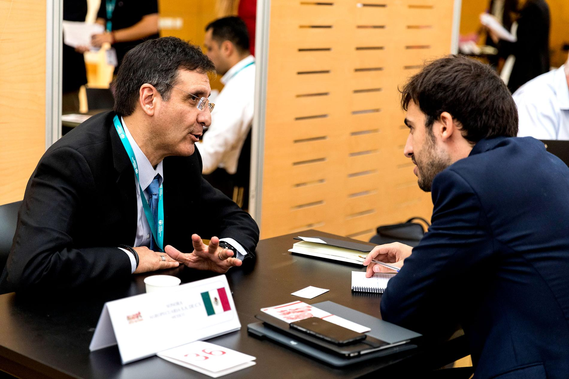 Importing buyers during the meetings