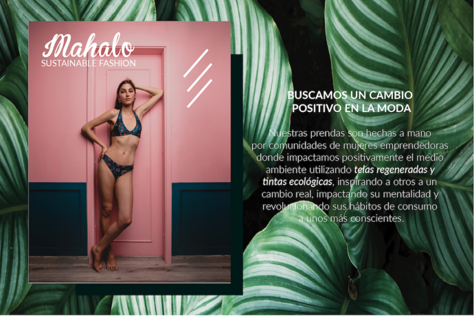 Maison Mahalo moda sostenible para mujeres vanguardistas