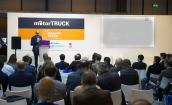 Conference at the Motortruck international fair