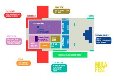 Mapa Mulafest