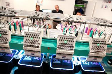 Modern textile machines