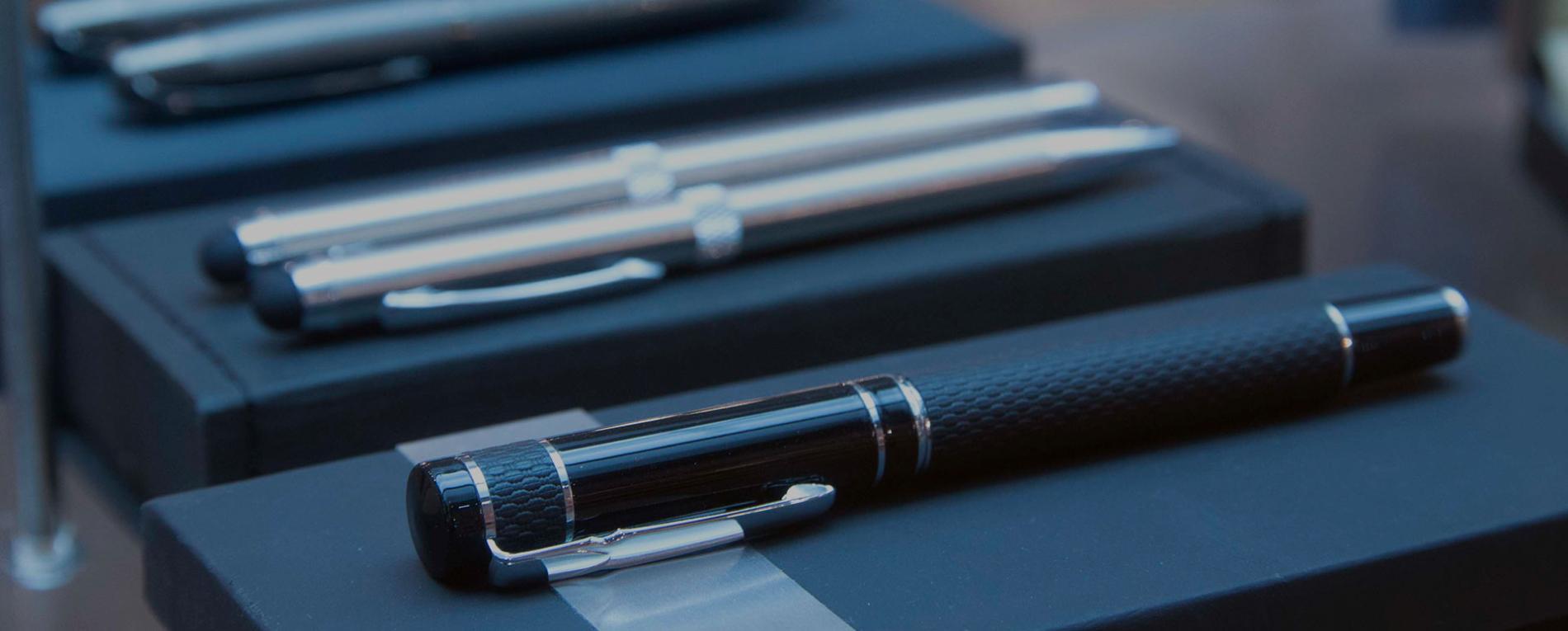 Muestra de bolígrafo