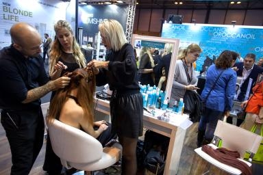 Salon Look exhibitor stand