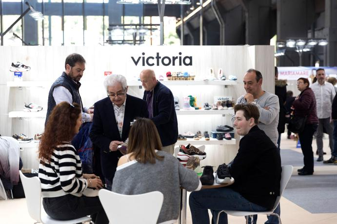 Stand Victoria en Shoesroom by Momad