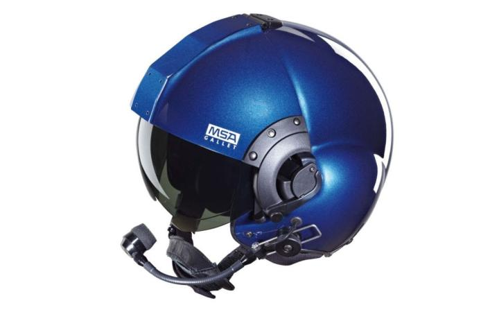 CASCO DE AVIACION  LH350  DE MSA SAFETY,  FABRICADO CON MATERIALES DE MAXIM