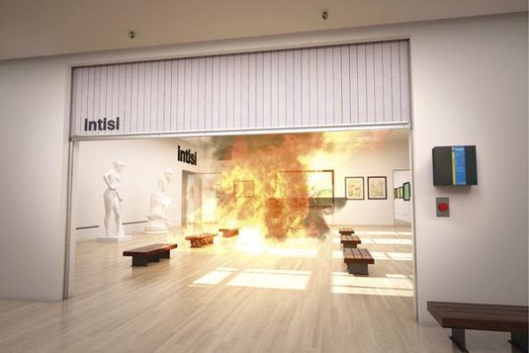 Reinventando la sectorización de incendios con cortinas cortafuegos INTISI