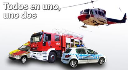 Servicios 112 de la Comunidad de Madrid