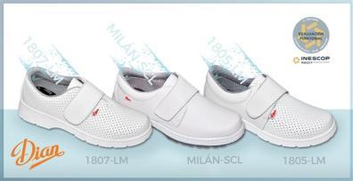 Calzado diseñado por Dian para evitar problemas de pies en el trabajo