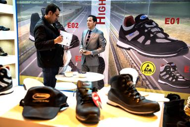 Special footwear at the Sicur fair, in IFEMA