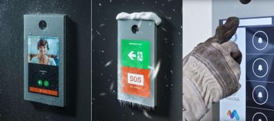 Imagen de las distintas pantallas táctiles que muestran las ventajas de la pantalla de OD10