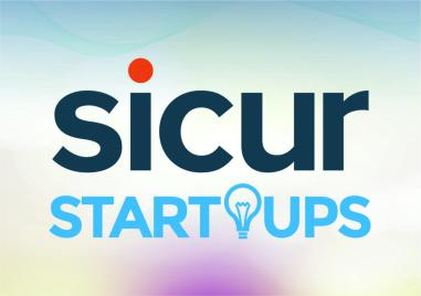 Logo of the new SICUR Startups space for entrepreneurs