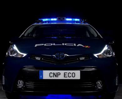 Nuevo vehículo de la Policía Nacional