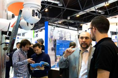 Professional visitors at Sicur