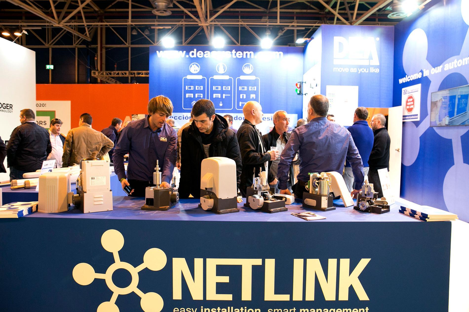 Netlink stand SMARTDOORS
