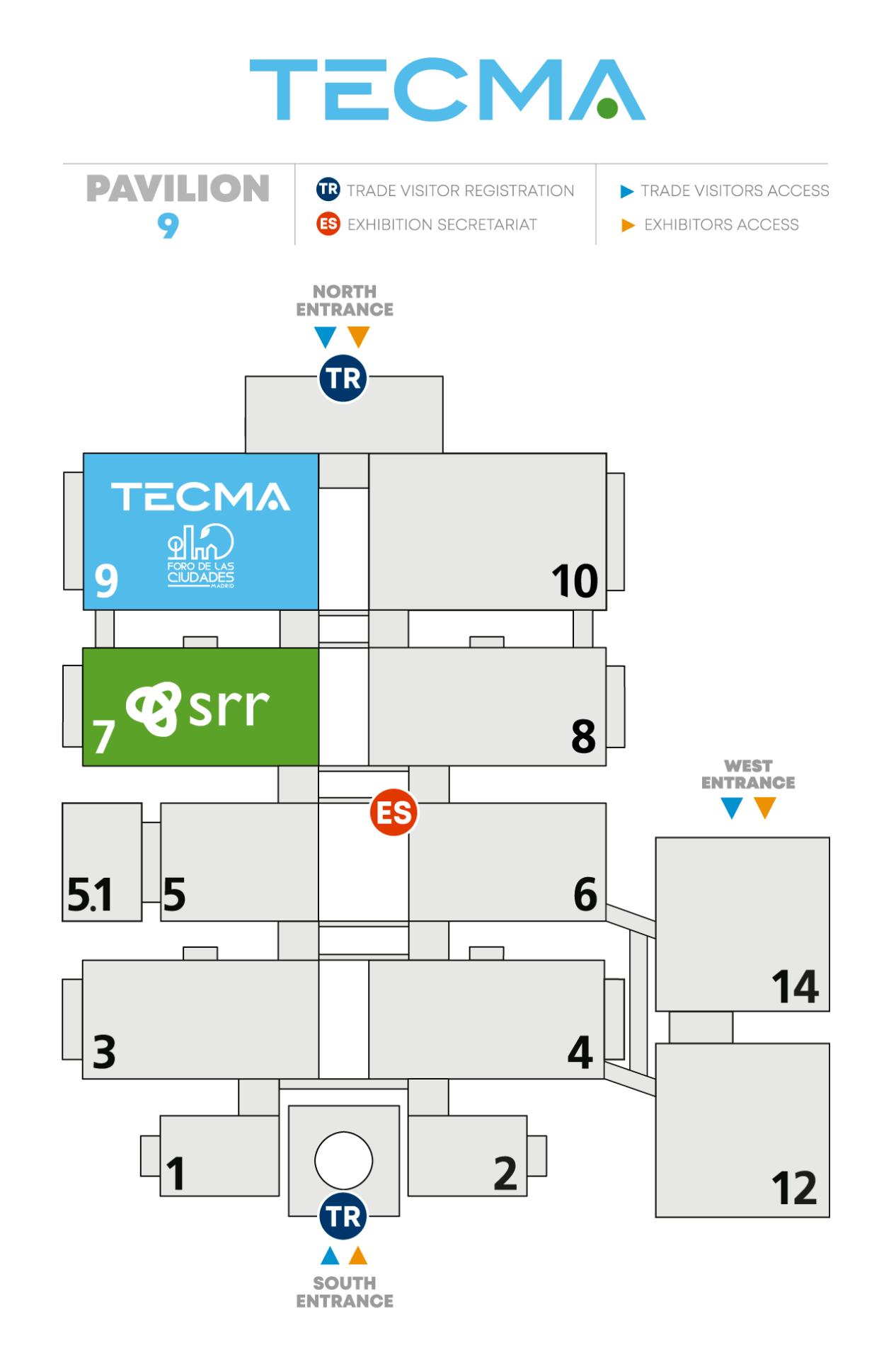 Hall distribution map eng
