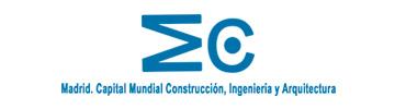 Logo Madrid, Capital Mundial de la Construcción