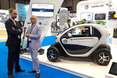 Muestra de coche eléctrico