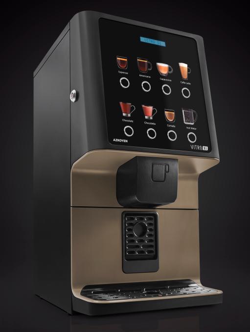 Grupo Azkoyen presentará las máquinas de café Vitro S1 y Vitro S5 con grupo