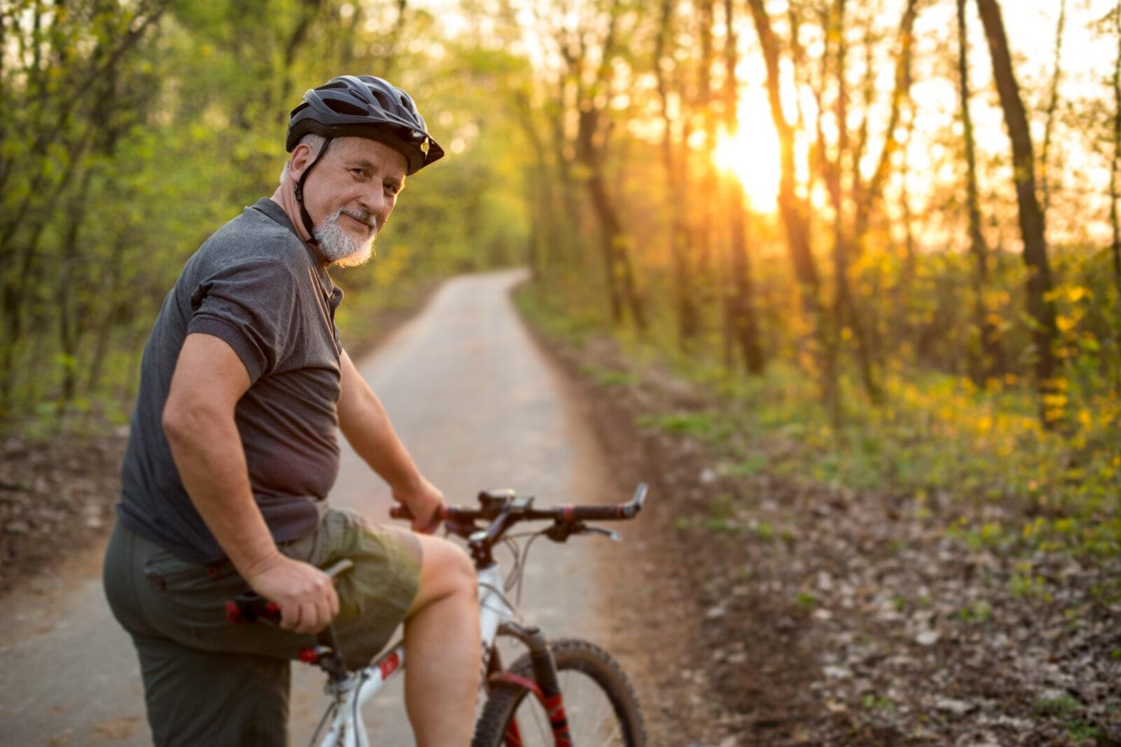 Ciclismo para fortalecer músculos