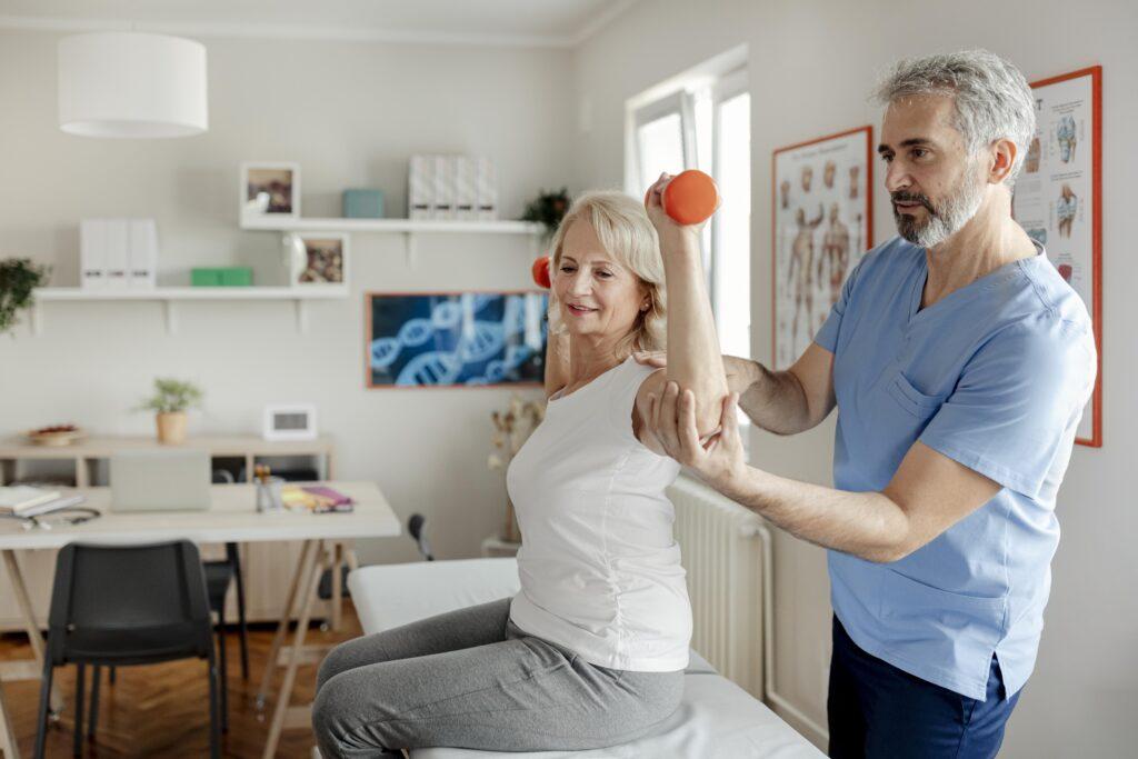 Persona Silver ejercicio osteoporosis