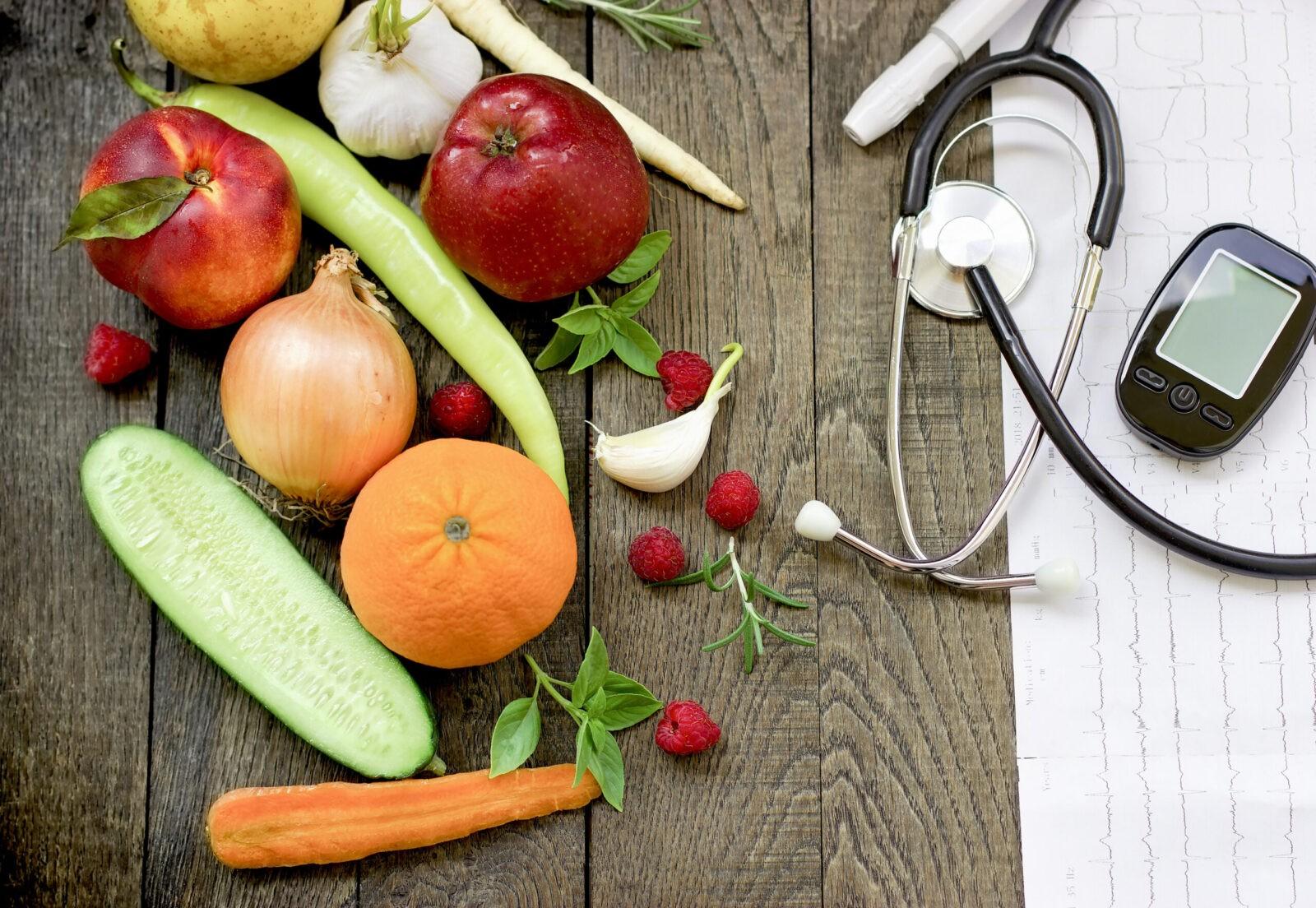 Frutas verduras hortalizas dieta fibra