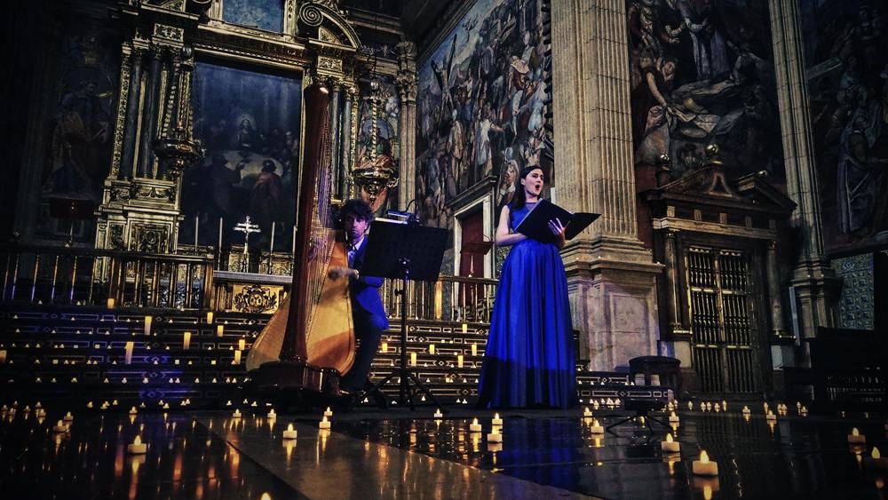 Concierto en iglesia a la luz de las velas