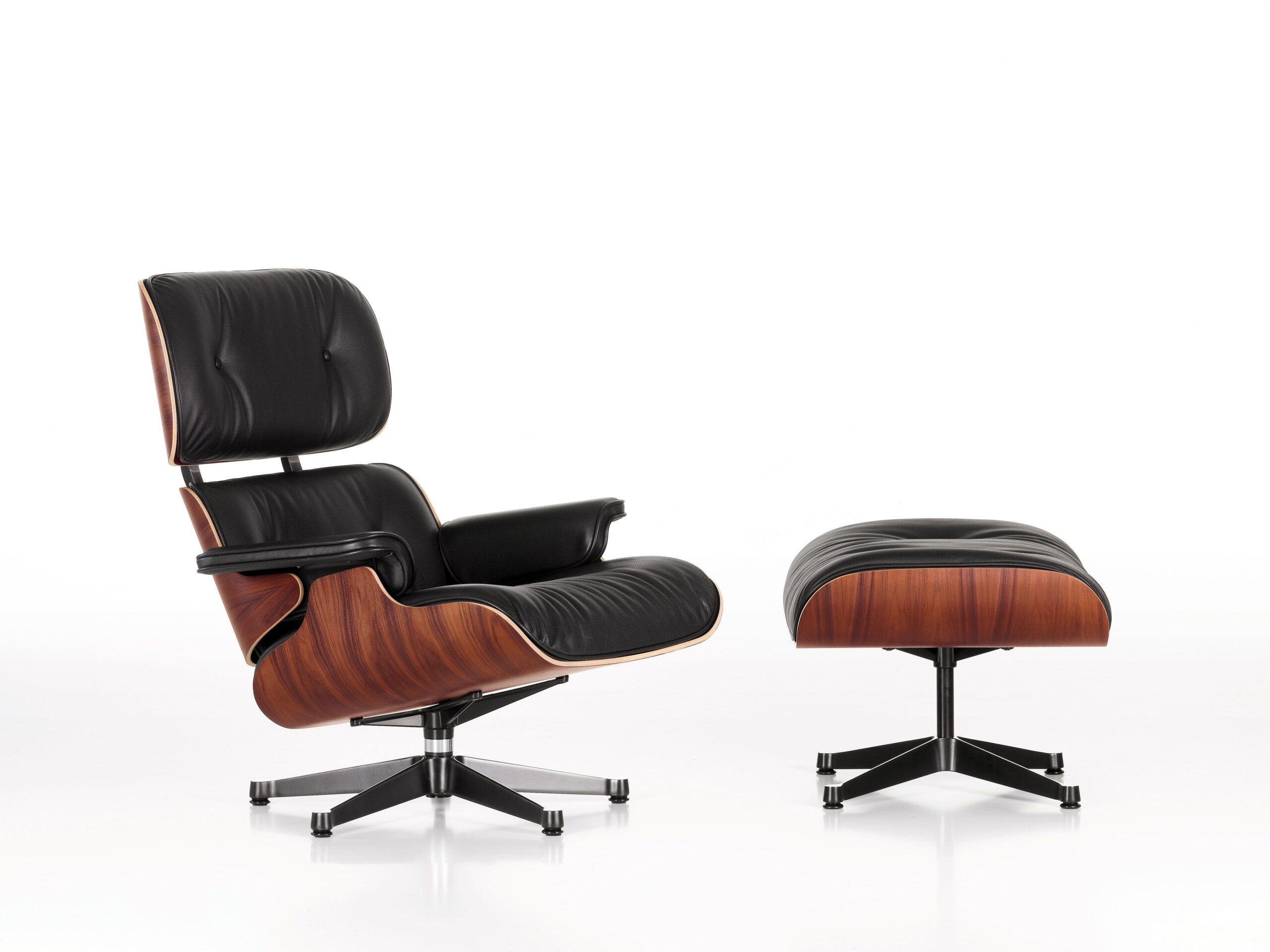 Lounge Chair y Ottoman.